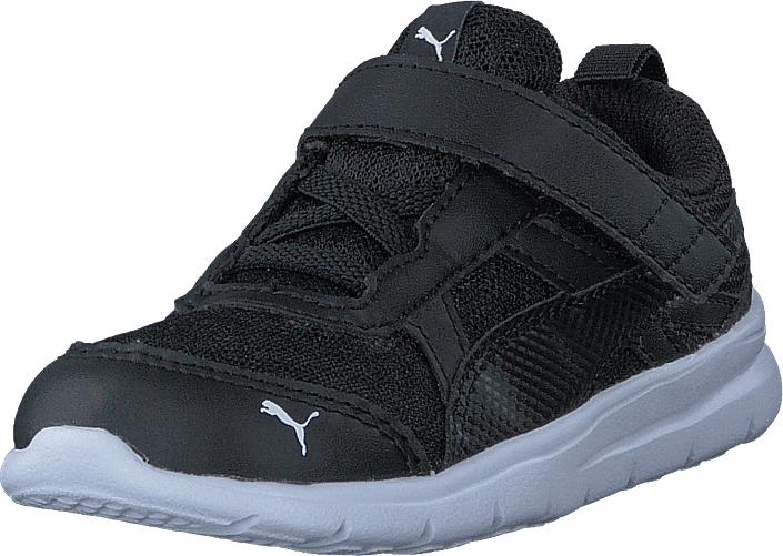 Puma Puma Flex Essential V Inf Puma Black-puma Black, Kengät, Sneakerit ja urheilukengät, Urheilukengät, Musta, Unisex, 25