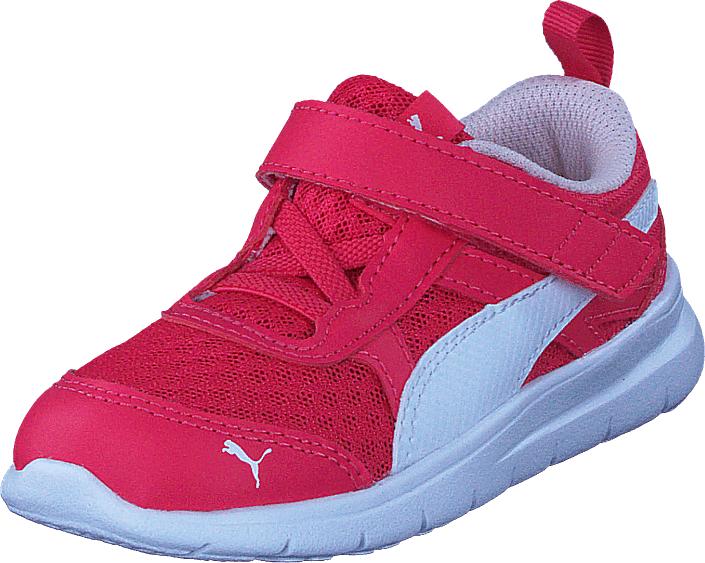 Puma Puma Flex Essential V Inf Paradise Pink-puma White, Kengät, Sneakerit ja urheilukengät, Sneakerit, Vaaleanpunainen, Unisex, 26
