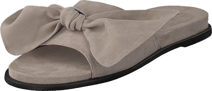 Vero Moda Bow Leather Sandal Ash, Kengät, Sandaalit ja tohvelit, Sandaalit, Ruskea, Naiset, 36