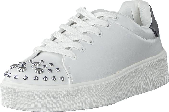 Vero Moda Vmsitta Sneaker Snow White, Kengät, Sneakerit ja urheilukengät, Sneakerit, Valkoinen, Naiset, 36