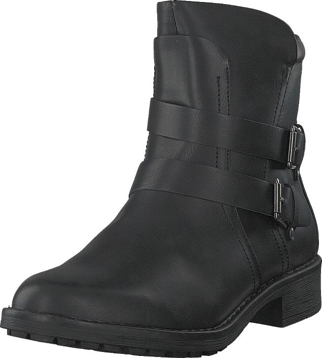 Vero Moda Vmvilma Biker Boot Black, Kengät, Bootsit, Korkeavartiset bootsit, Musta, Naiset, 41