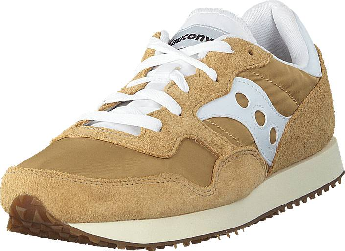 Saucony Dxn Trainer Vintage (emea) Tan/white, Kengät, Sneakerit ja urheilukengät, Sneakerit, Beige, Miehet, 41