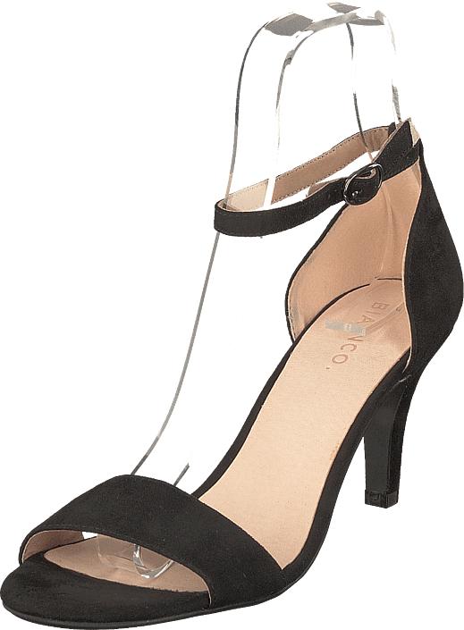 Bianco Low Basic Sandal Noos Black, Kengät, Korkokengät, Matalakorkoiset Sandaletit, Musta, Naiset, 36