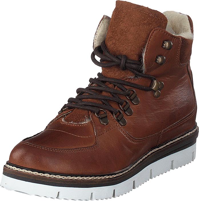 Bianco Warm Hiking Boot Jas18 Cognac, Kengät, Bootsit, Kengät, Ruskea, Naiset, 41