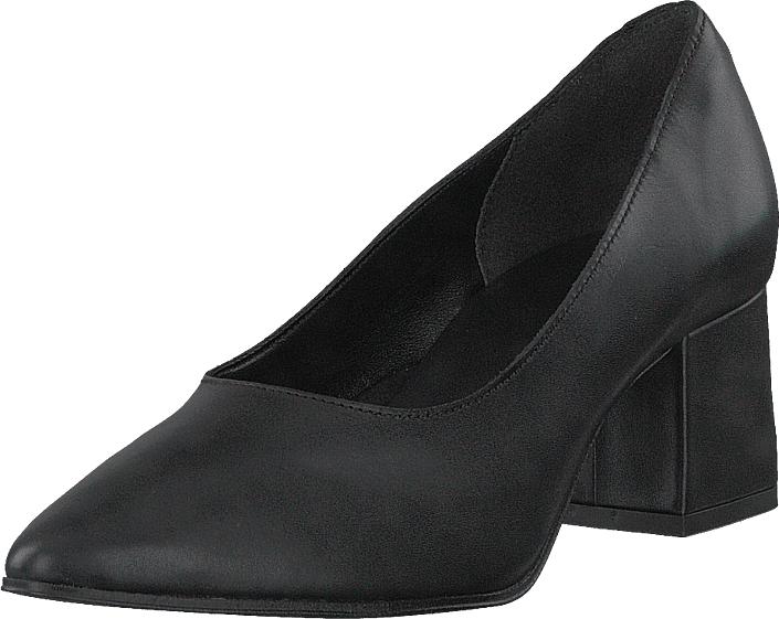 Bianco Fashion Pump Jas18 Black, Kengät, Korkokengät, Avokkaat, Musta, Naiset, 40