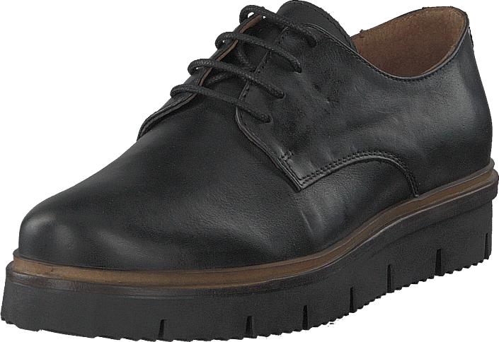 Bianco Inn. Lace Shoe Jfm18 Black, Kengät, Matalapohjaiset kengät, Juhlakengät, Harmaa, Naiset, 41
