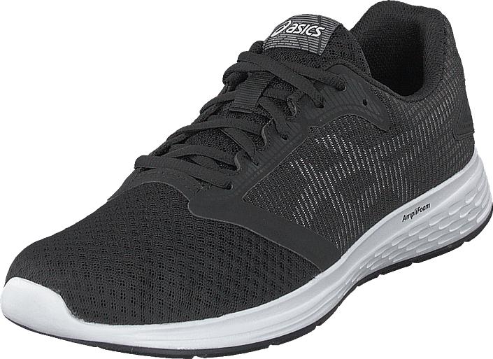 Asics Patriot 10 Black/white, Kengät, Sneakerit ja urheilukengät, Sneakerit, Musta, Miehet, 42