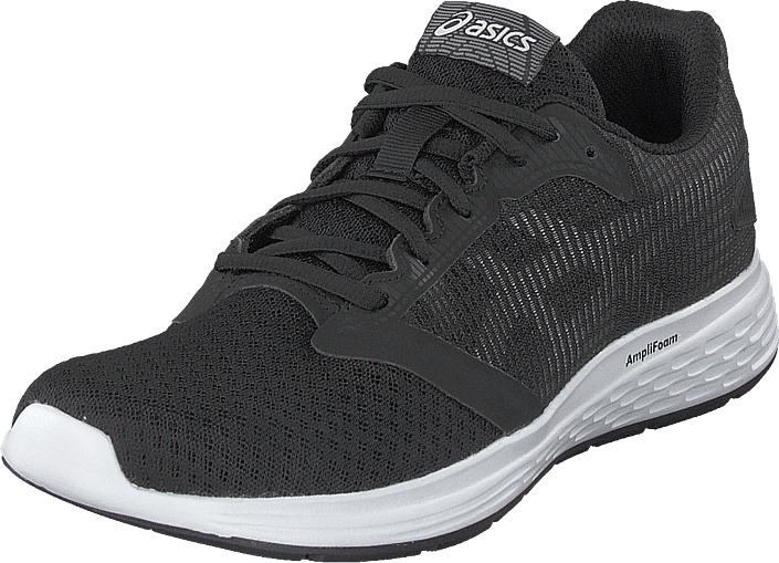 Asics Patriot 10 Black/white, Kengät, Sneakerit ja urheilukengät, Urheilukengät, Musta, Naiset, 38
