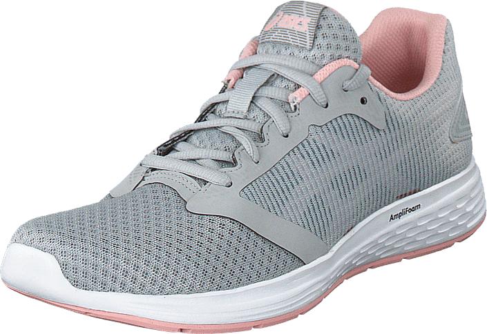 Asics Patriot 10 Mid Grey/frosted Rose, Kengät, Sneakerit ja urheilukengät, Urheilukengät, Harmaa, Naiset, 40