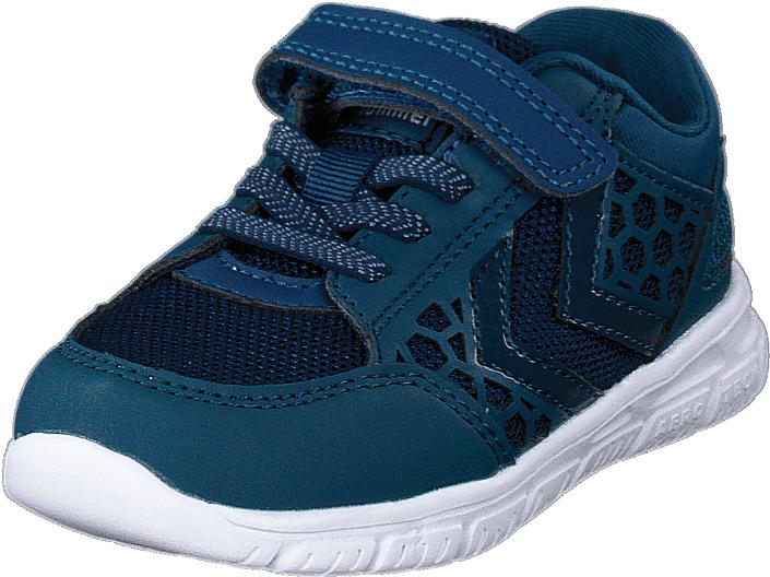 Hummel Crosslite Infant Corsair, Kengät, Sneakerit ja urheilukengät, Sneakerit, Turkoosi, Sininen, Unisex, 24