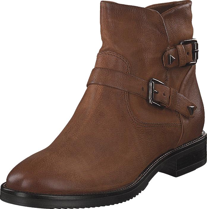MJUS Boots Buckles Zarko Brandy/5001, Kengät, Bootsit, Korkeavartiset bootsit, Ruskea, Naiset, 38