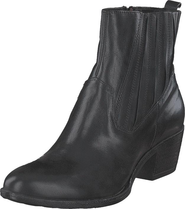 MJUS Boots Hid. Elastic Dally Nero/7401, Kengät, Saappaat ja saapikkaat, Nilkkurit, Harmaa, Naiset, 37