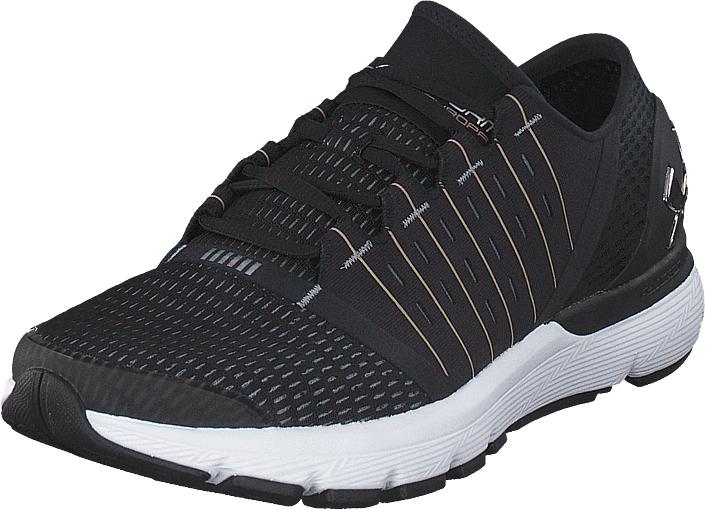 Under Armour Ua Speedform Europa Black/stee /metallic Gold, Kengät, Sneakerit ja urheilukengät, Urheilukengät, Musta, Miehet, 43