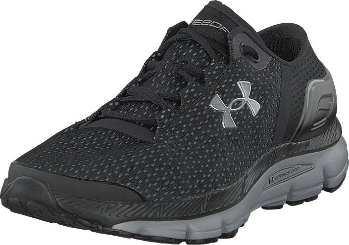 Under Armour Ua Speedform Intake 2 Black/metallic Silver, Kengät, Sneakerit ja urheilukengät, Sneakerit, Harmaa, Miehet, 42