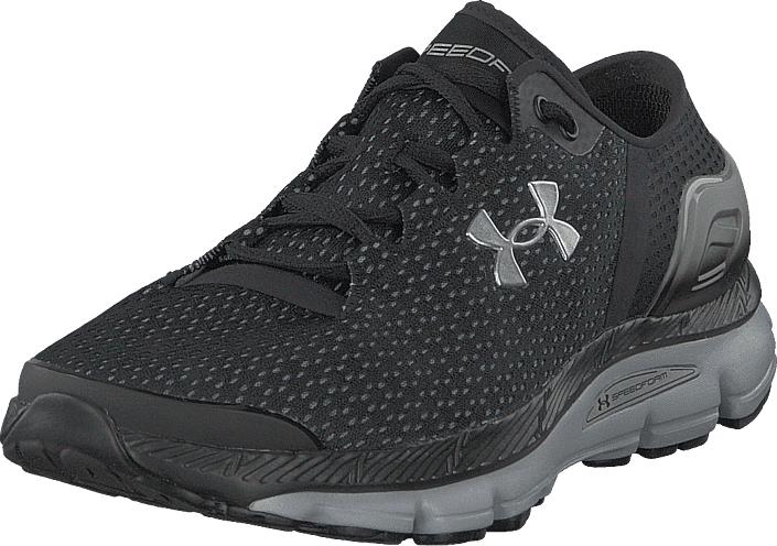 Under Armour Ua Speedform Intake 2 Black/metallic Silver, Kengät, Sneakerit ja urheilukengät, Sneakerit, Harmaa, Miehet, 44