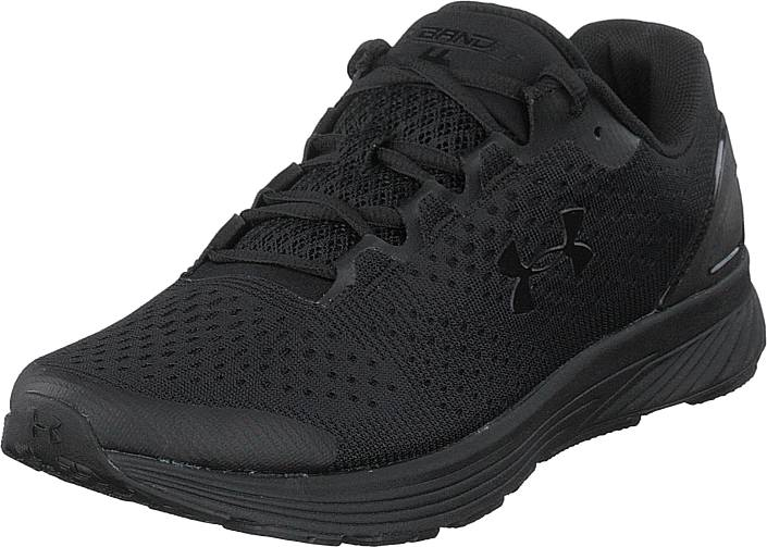 Under Armour Ua Charged Bandit 4 Black / Overcast Gray / Black, Kengät, Sneakerit ja urheilukengät, Sneakerit, Musta, Miehet, 42