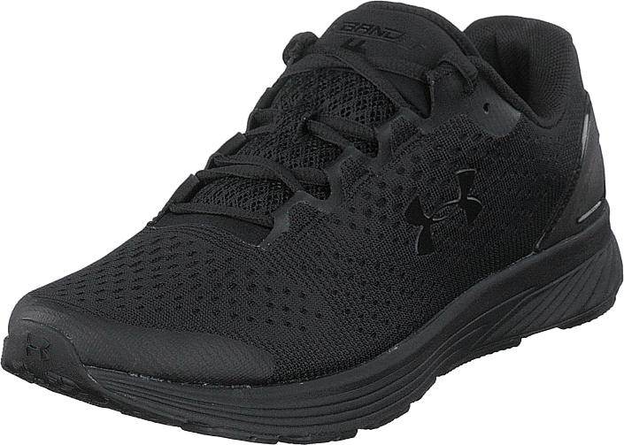 Under Armour Ua Charged Bandit 4 Black / Overcast Gray / Black, Kengät, Sneakerit ja urheilukengät, Sneakerit, Musta, Miehet, 44
