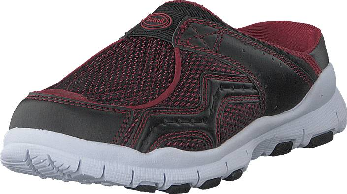 Scholl Jump Black/wine, Kengät, Matalapohjaiset kengät, Slip on, Harmaa, Naiset, 38