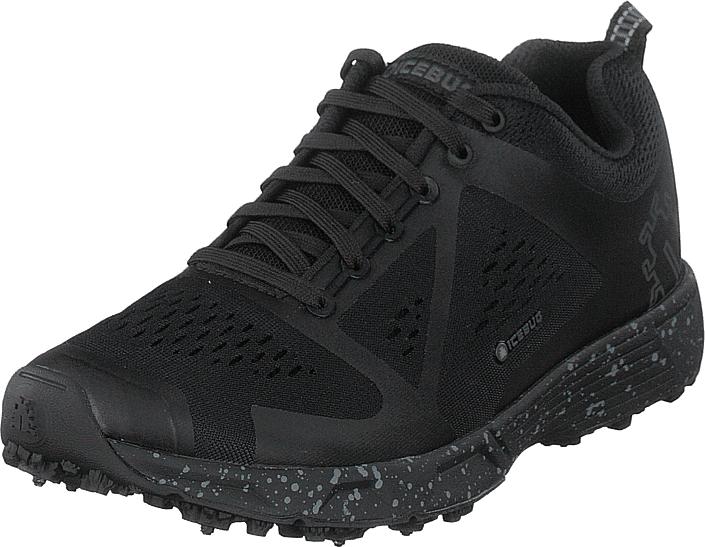 Icebug Dts4 M Bugrip® Black, Kengät, Sneakerit ja urheilukengät, Sneakerit, Musta, Miehet, 41