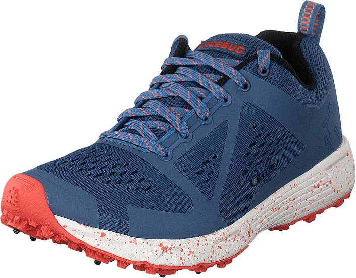 Icebug Dts4 W Bugrip® Rain/coral, Kengät, Sneakerit ja urheilukengät, Sneakerit, Sininen, Naiset, 42