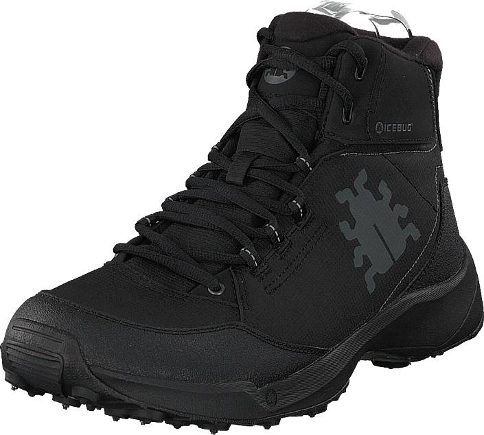 Icebug Lien M Bugrip® Black, Kengät, Bootsit, Kengät, Musta, Miehet, 45