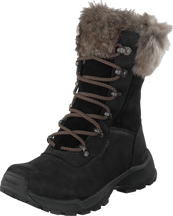 Icebug Woods W Michelin Black, Kengät, Bootsit, Lämminvuoriset kengät, Musta, Naiset, 41