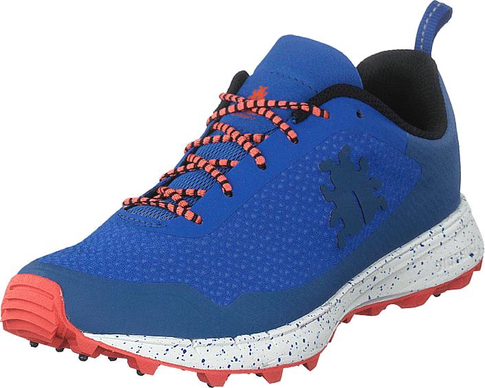 Icebug Oribi3 W Bugrip® Cerulean/coral, Kengät, Sneakerit ja urheilukengät, Urheilukengät, Sininen, Naiset, 39
