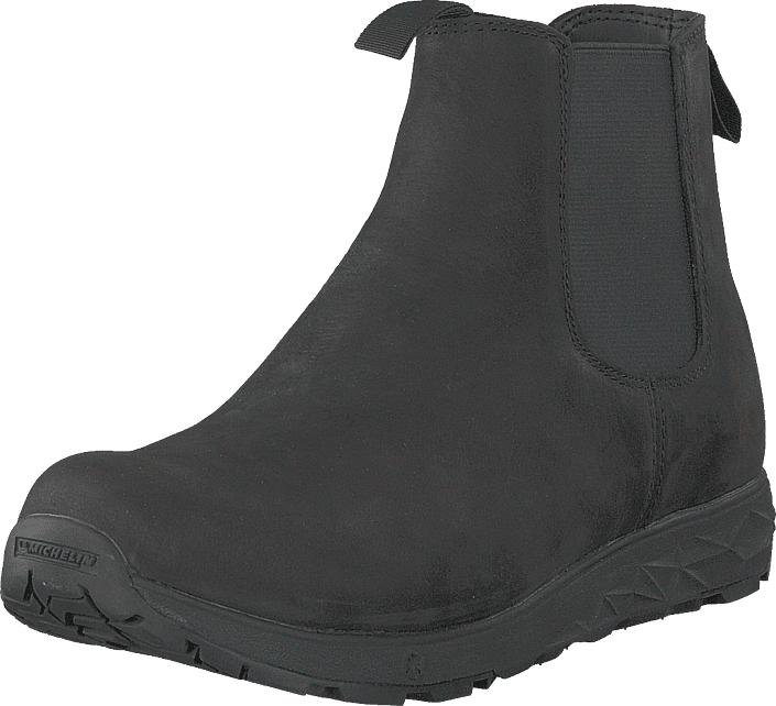 Icebug Wander W Michelin Black, Kengät, Bootsit, Chelsea boots, Musta, Naiset, 36