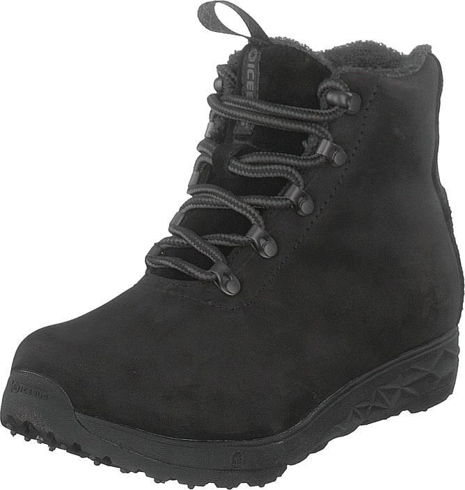 Icebug Forester W Bugrip® Black, Kengät, Bootsit, Kengät, Musta, Naiset, 36