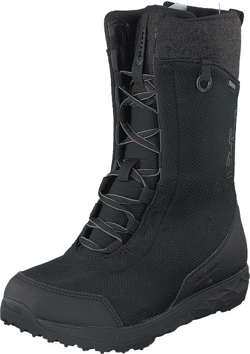 Icebug Fern W Bugrip® Gtx Black, Kengät, Bootsit, Lämminvuoriset kengät, Musta, Naiset, 37