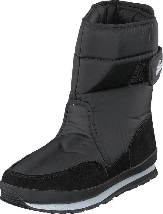 Rubber Duck Rd Nylon Suede Solid Black, Kengät, Bootsit, Lämminvuoriset kengät, Musta, Naiset, 40