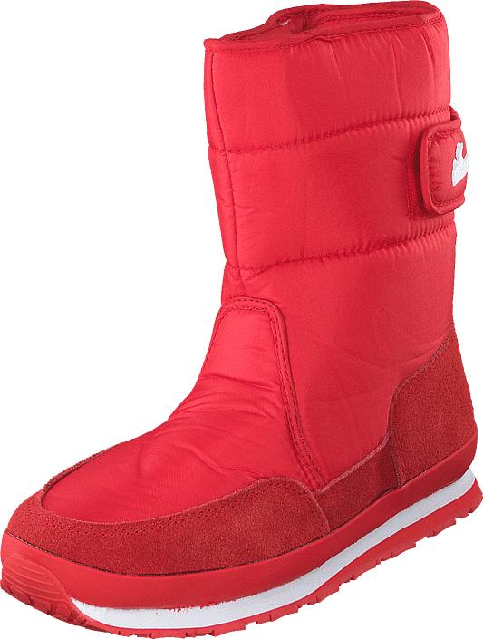 Rubber Duck Rd Nylon Suede Solid Red, Kengät, Bootsit, Lämminvuoriset kengät, Punainen, Naiset, 42