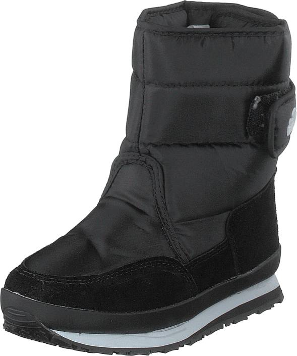 Rubber Duck Rd Nylon Suede Solid Kids Black, Kengät, Bootsit, Lämminvuoriset kengät, Musta, Unisex, 25