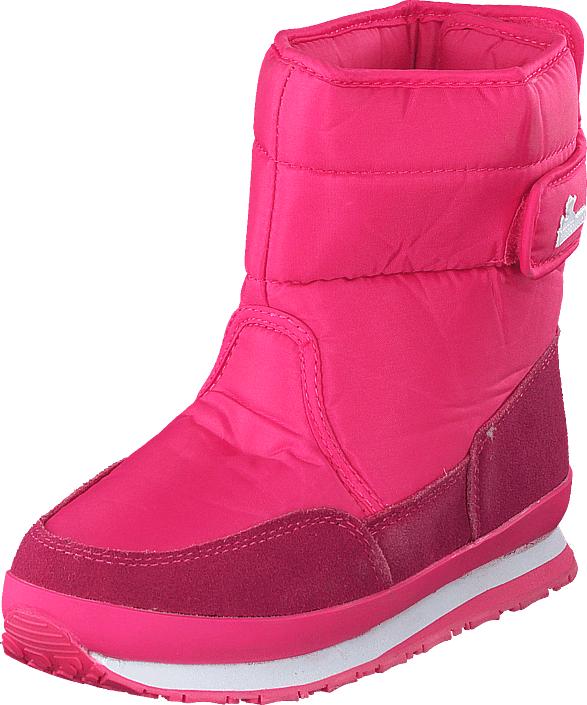Rubber Duck Rd Nylon Suede Solid Kids Pink, Kengät, Bootsit, Lämminvuoriset kengät, Vaaleanpunainen, Unisex, 28