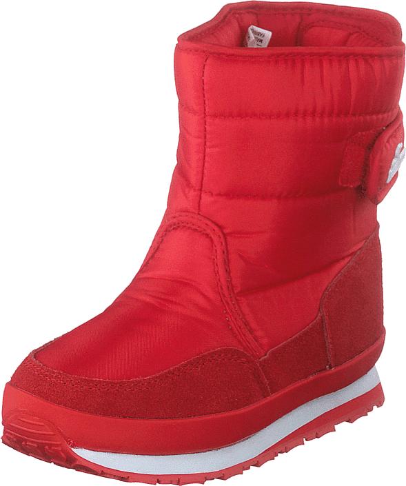 Rubber Duck Rd Nylon Suede Solid Kids Red, Kengät, Bootsit, Lämminvuoriset kengät, Punainen, Unisex, 34