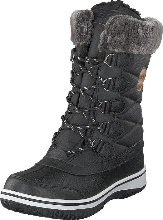 Eskimo Frosty Waterproof Black, Kengät, Saappaat ja saapikkaat, Lämminvuoriset talvisaappaat, Musta, Unisex, 36