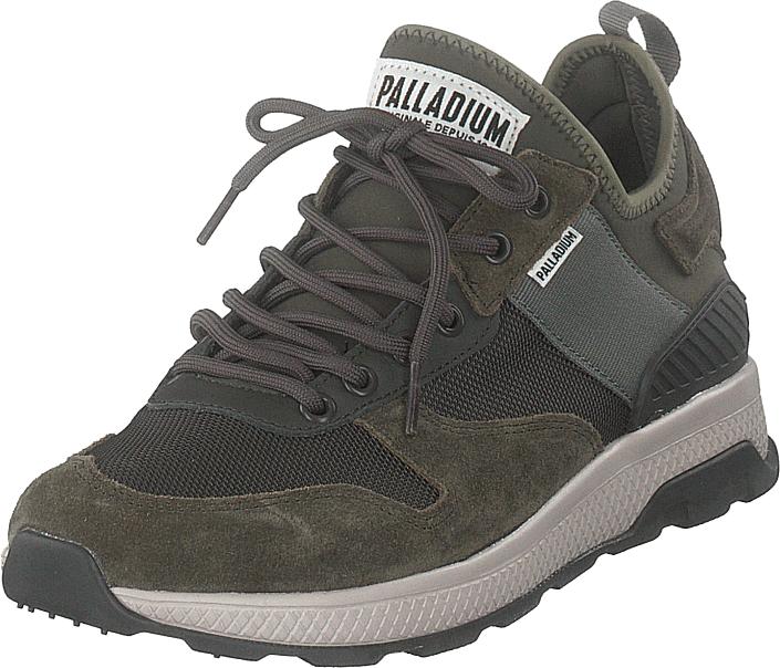 Palladium Ax_eon Army Runner Beluga, Kengät, Sneakerit ja urheilukengät, Sneakerit, Harmaa, Miehet, 42