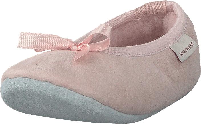 Shepherd Varberg Pink, Kengät, Matalapohjaiset kengät, Ballerinat, Beige, Ruskea, Vaaleanpunainen, Unisex, 25