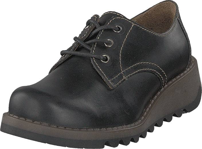 Fly London Simb K Pull Up - Black, Kengät, Matalapohjaiset kengät, Kävelykengät, Musta, Unisex, 32