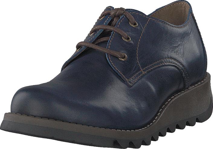 Fly London Simb389fly Rug - Blue, Kengät, Matalapohjaiset kengät, Juhlakengät, Harmaa, Sininen, Naiset, 42