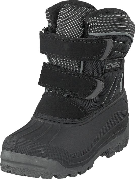 Eskimo Star Black/grey, Kengät, Bootsit, Lämminvuoriset kengät, Harmaa, Unisex, 32