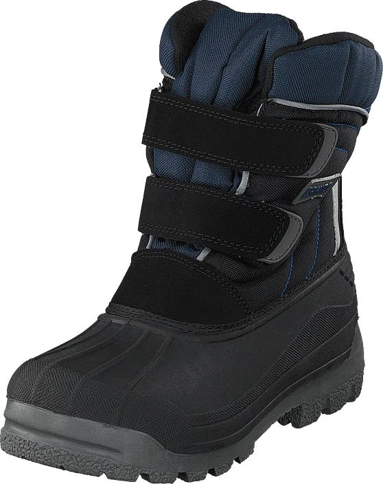 Eskimo Star Black/blue, Kengät, Bootsit, Korkeavartiset bootsit, Musta, Unisex, 32