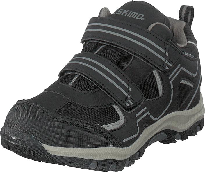 Eskimo Trapp Waterproof Black/grey, Kengät, Sneakerit ja urheilukengät, Tennarit , Musta, Unisex, 31
