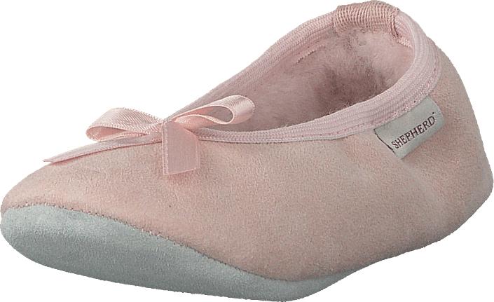 Shepherd Varberg Pink, Kengät, Matalapohjaiset kengät, Ballerinat, Beige, Vaaleanpunainen, Unisex, 32