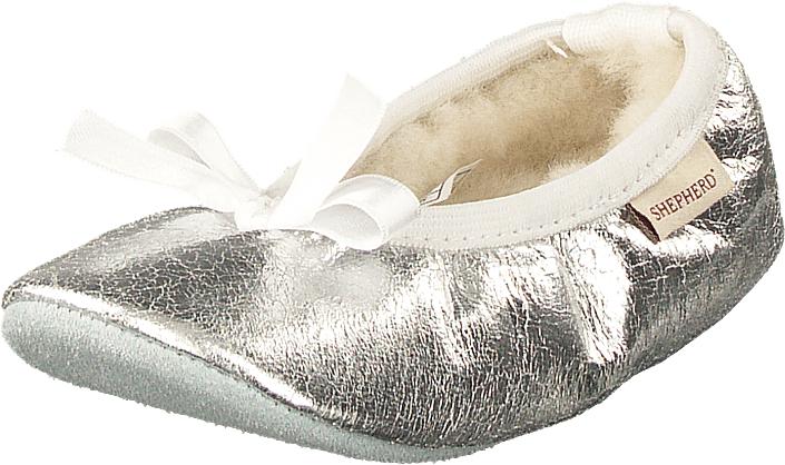 Shepherd Varberg Silver, Kengät, Matalapohjaiset kengät, Maryjane-kengät, Ruskea, Unisex, 29