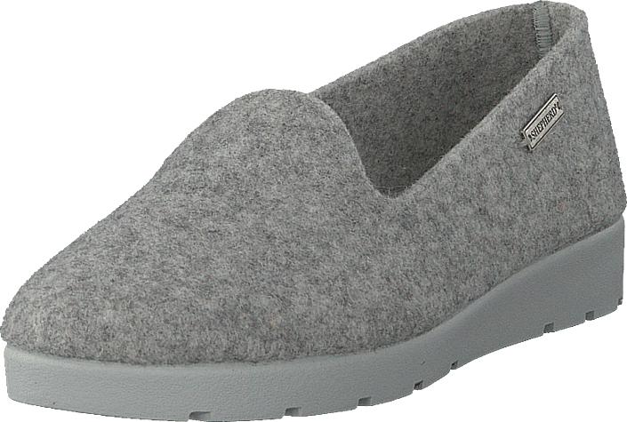 Shepherd Britta Grey, Kengät, Matalapohjaiset kengät, Slip on, Harmaa, Naiset, 36