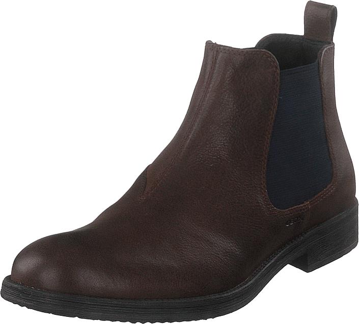 Geox U Jaylon Coffee, Kengät, Bootsit, Chelsea boots, Ruskea, Miehet, 44