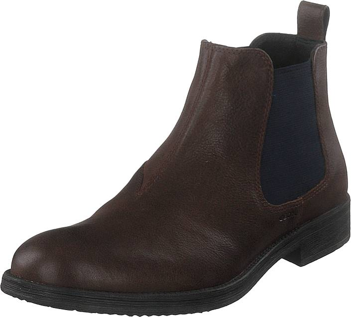 Geox U Jaylon Coffee, Kengät, Bootsit, Chelsea boots, Ruskea, Miehet, 43
