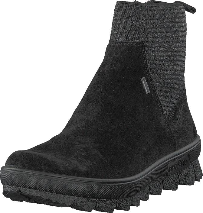 Legero Novarra Gore-tex® Black, Kengät, Bootsit, Chelsea boots, Musta, Naiset, 36
