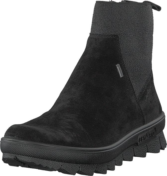 Legero Novarra Gore-tex® Black, Kengät, Bootsit, Chelsea boots, Musta, Naiset, 37